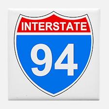 Sign-Interstate-94.gif Tile Coaster
