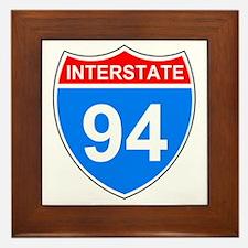 Sign-Interstate-94.gif Framed Tile