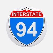 Sign-Interstate-94.gif Round Ornament