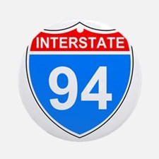 Sign-Interstate-94.gif Round Ornament
