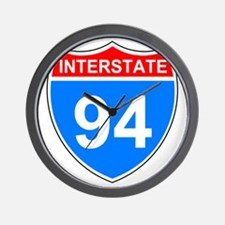 Sign-Interstate-94.gif Wall Clock