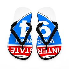 Sign-Wisconsin-Interstate-94.gif Flip Flops