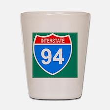 Sign-Interstate-94-Sticker.gif Shot Glass
