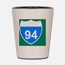 Sign-Interstate-94-Magnet.gif Shot Glass