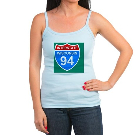 Sign-Wisconsin-Interstate-94-St Jr. Spaghetti Tank
