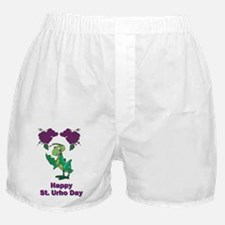 St-Urho-Black-Shirt-2 Boxer Shorts