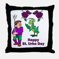 St-Urho-Shirt-1.gif Throw Pillow