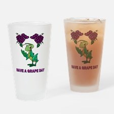 St-Urho-Shirt-Back.gif Drinking Glass