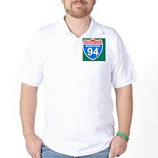 3-Sign-Montana-Hwy-I94-Magnet.gif T-Shirt