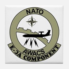 NATO-AWACS-E-3A-Light-Blue-Shirt.gif Tile Coaster