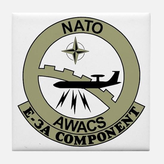 NATO-AWACS-E-3A-Light-Blue-Shirt.gif Tile Coaster