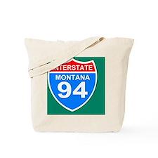 3-Sign-Montana-Hwy-I94-Button.gif Tote Bag