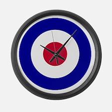RAF-Roundel-Bonnie.gif Large Wall Clock