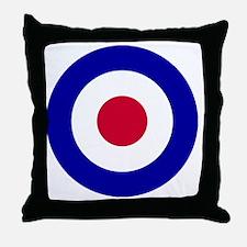 RAF-Roundel-Bonnie.gif Throw Pillow