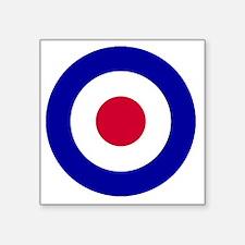 "RAF-Roundel-Bonnie.gif Square Sticker 3"" x 3"""