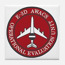 NATO-AWACS-E-3D-Operational-Evaluatio Tile Coaster