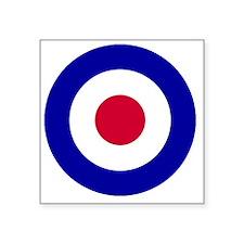 "RAF-Black-Shirt-2 Square Sticker 3"" x 3"""