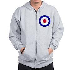RAF-Black-Shirt-2 Zip Hoodie
