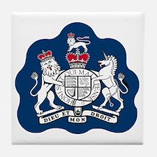 RAF-Warrant-Officer-Bonnie.gif Tile Coaster