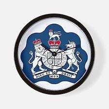RAF-Warrant-Officer-Bonnie.gif Wall Clock