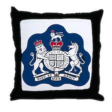 RAF-Warrant-Officer-Bonnie.gif Throw Pillow