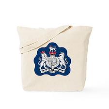 3-RAF-Warrant-Officer-Black-Shirt Tote Bag