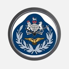 RAF-Master-Aircrew-Black-Shirt Wall Clock