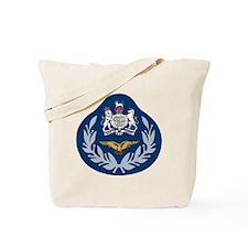 RAF-Master-Aircrew-Black-Shirt Tote Bag