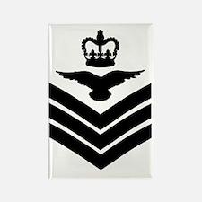 RAF-Flight-Sergeant-Aircrew-Green Rectangle Magnet