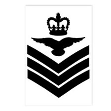 RAF-Flight-Sergeant-Aircr Postcards (Package of 8)