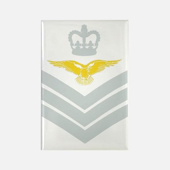 RAF-Flight-Sergeant-Aircrew-Black Rectangle Magnet