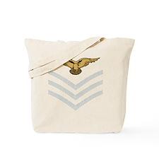 RAF-Sergeant-Aircrew-Black-Shirt Tote Bag