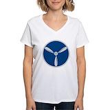 British tee- shirts Womens V-Neck T-shirts