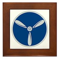 RAF-Senior-Aircraftman-Technician-Cap. Framed Tile