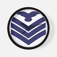 RAF-Sergeant-Aircrew-Khaki-Cap.gif Wall Clock