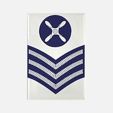 RAF-Chief-Technician-Blue-Shirt.g Rectangle Magnet