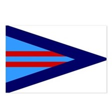 RAF-Wing-Commander-Flag.g Postcards (Package of 8)
