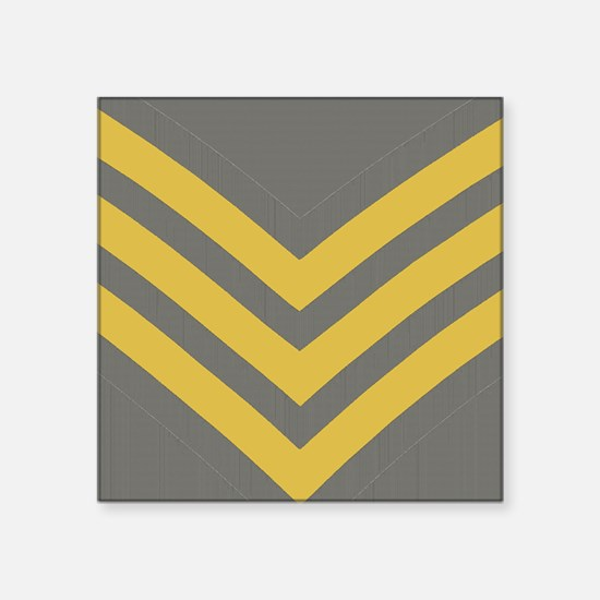 "Royal-Marines-Sergeant-Mous Square Sticker 3"" x 3"""