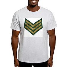 British-Army-Sergeant-Gold-Green-2.g T-Shirt