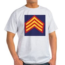 Royal-Marines-Provost-Sergeant-Tile- T-Shirt