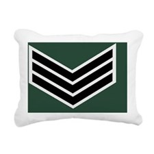 British-Army-Rifles-Regi Rectangular Canvas Pillow