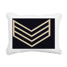 British-Army-Guards-Serg Rectangular Canvas Pillow
