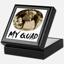 my quad Keepsake Box