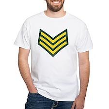 British-Army-Sergeant-Gold-Green- Shirt