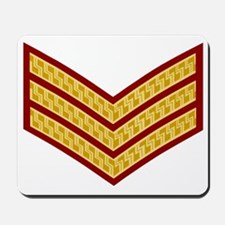 British-Army-Sergeant-Gold-Maroon-Bear.g Mousepad