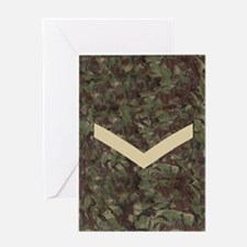 British-Army-Lance-Corporal-Journal. Greeting Card