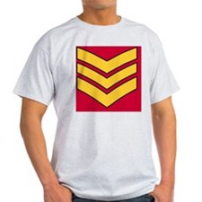 3-British-Army-Guards-Sergeant-Tile- T-Shirt