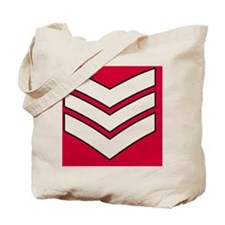 British-Army-Guards-Lance-Sergeant-Journa Tote Bag