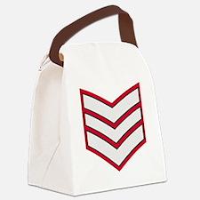 British-Army-Guards-Lance-Sergean Canvas Lunch Bag