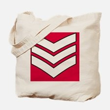 British-Army-Guards-Lance-Sergeant-Tile.g Tote Bag